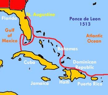 Map Of Florida Cuba And Puerto Rico.H O P E 2010