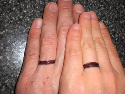 Tribal tattoos designs wedding ring tattoos the ultimate for Wedding ring finger tattoos designs