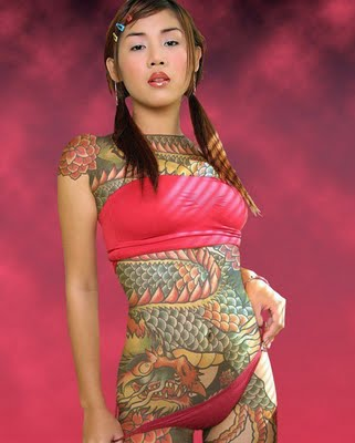 Japanese Tribal Tattoos Designs