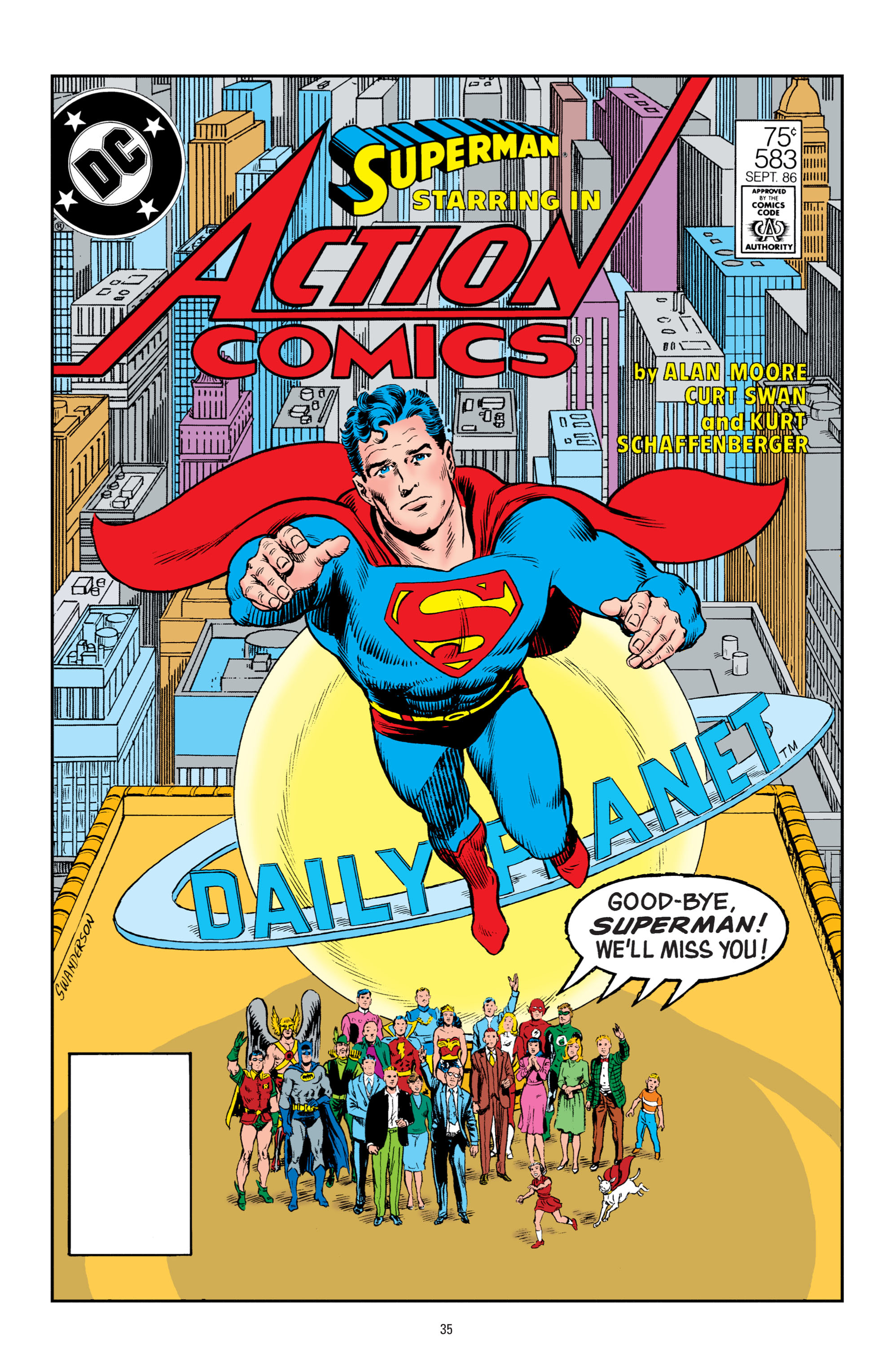 Read online Superman: Whatever Happened to the Man of Tomorrow? comic -  Issue # TPB - 34