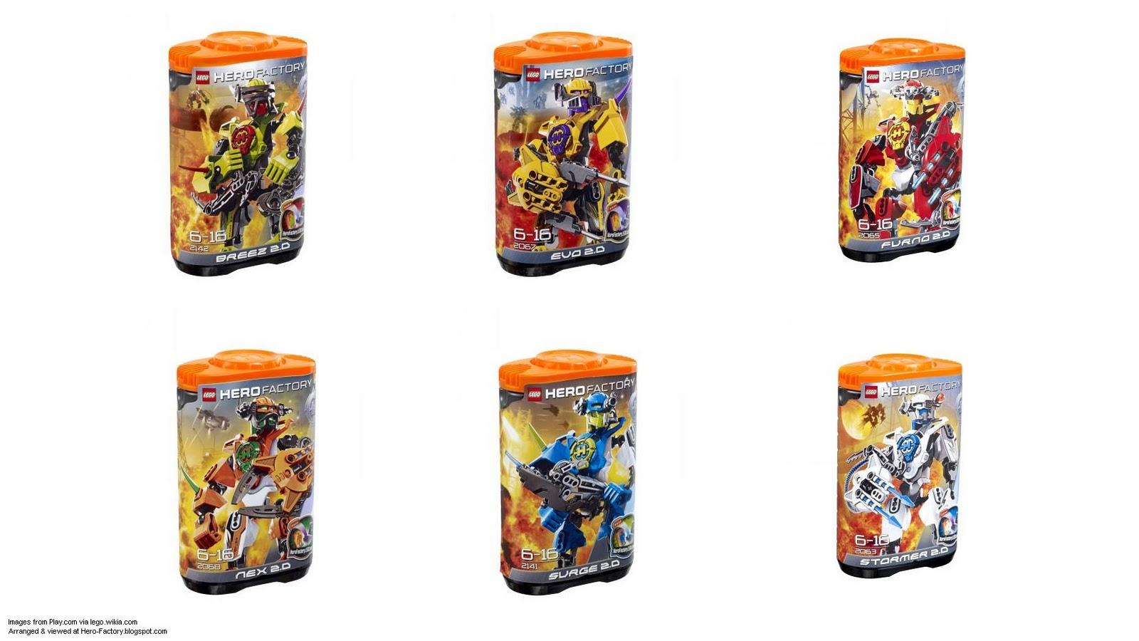 LEGO Hero Factory 2011: FINAL sets