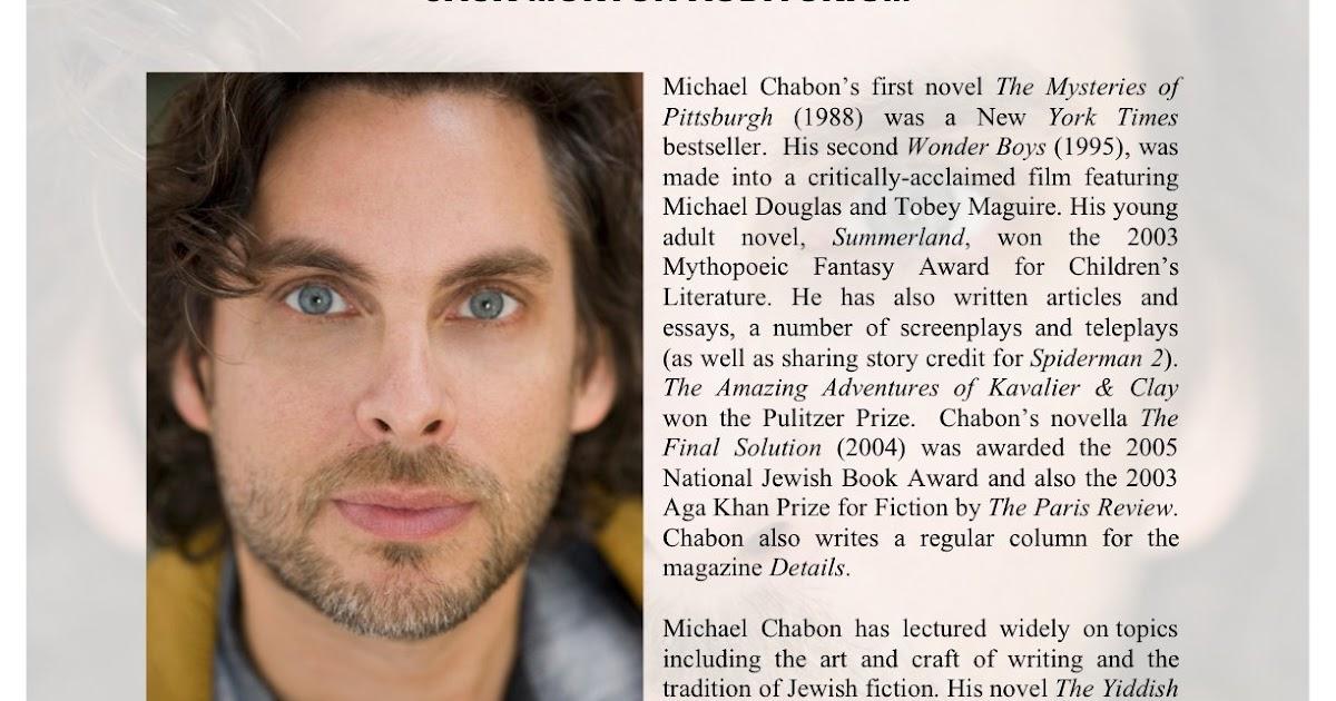 Michael chabon essays