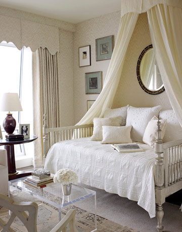 Splendid sass phoebe and james michael howard design in - Canopy bed decorating ideas ...