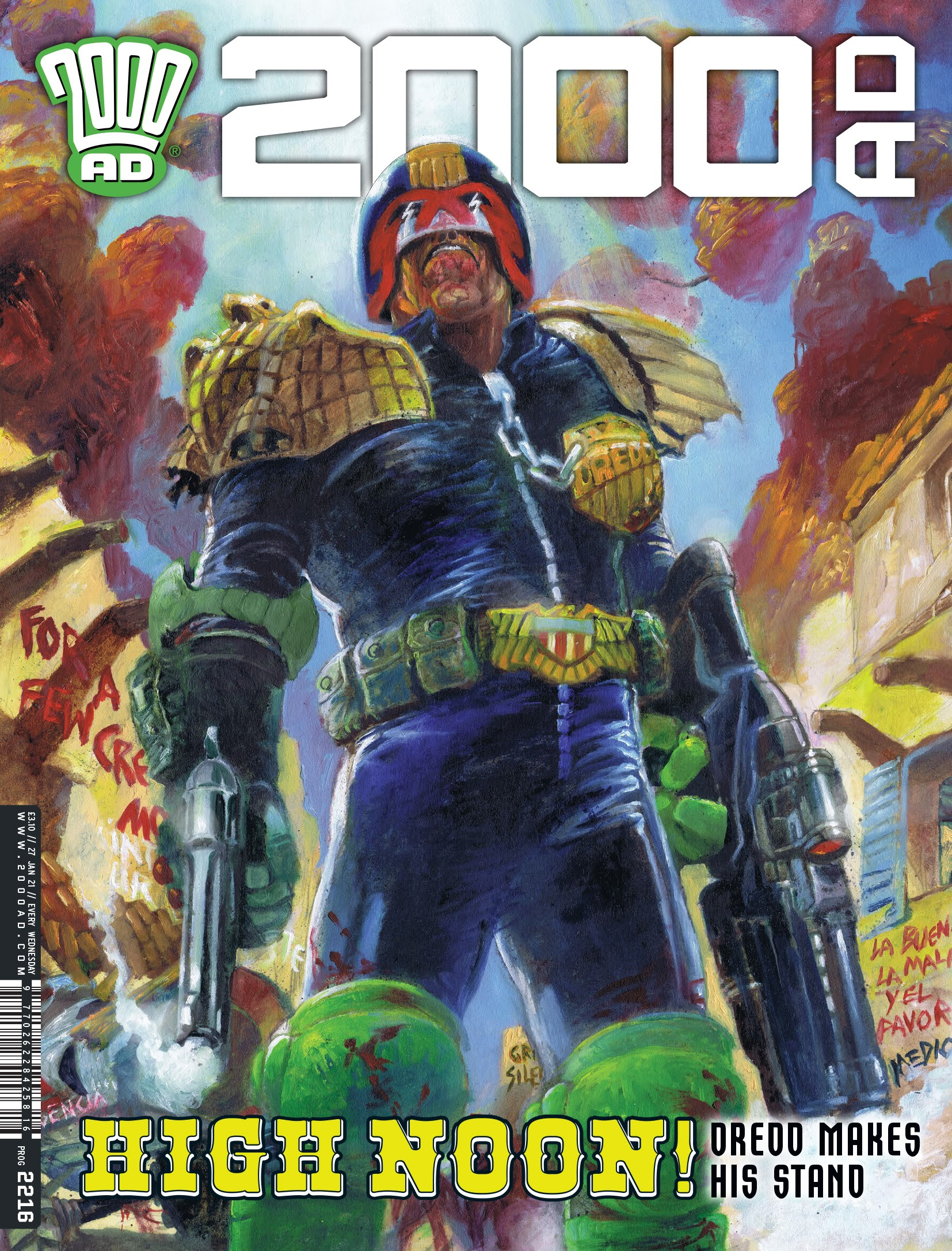 2000 AD issue 2216 - Page 1