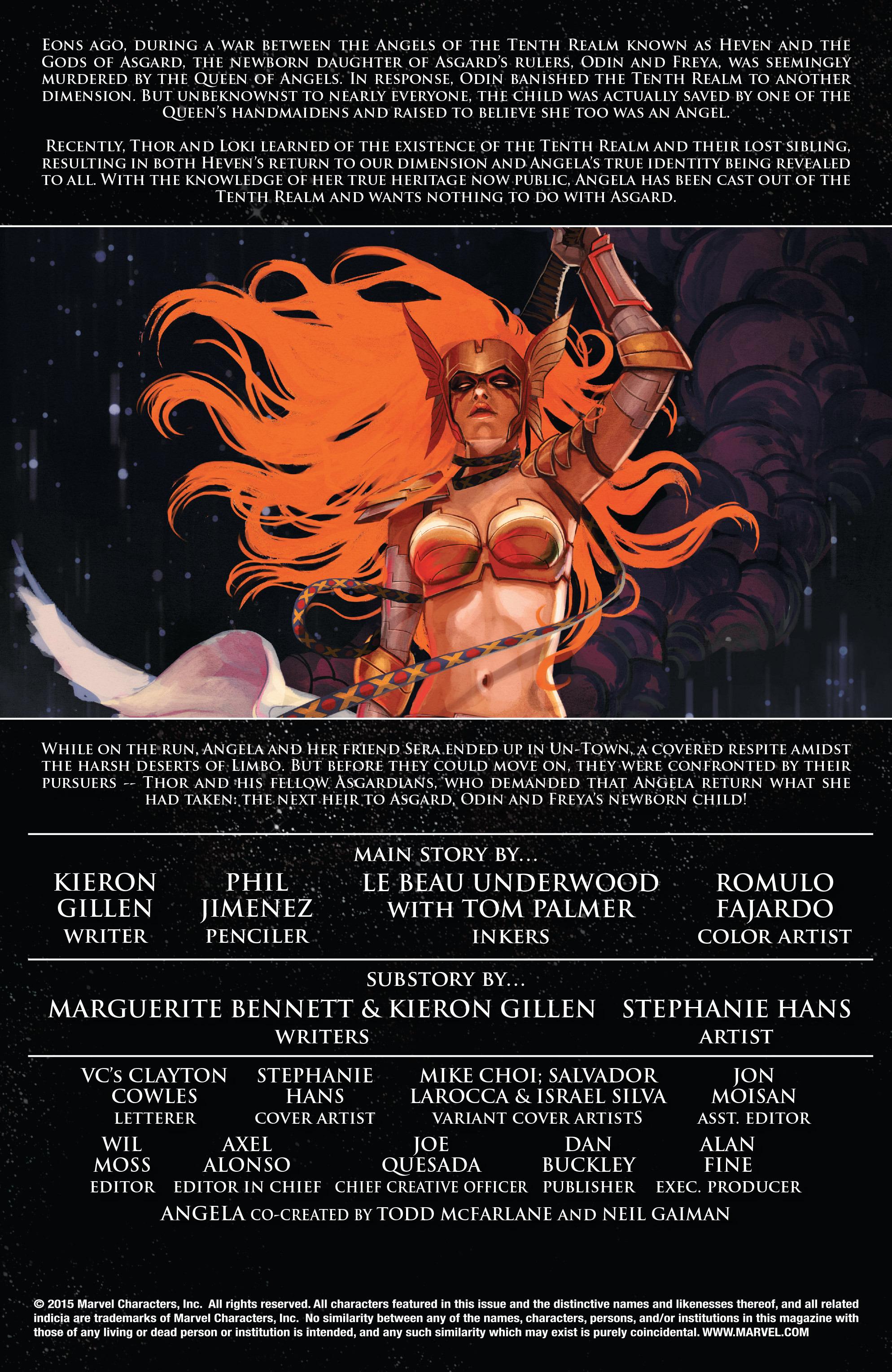 Read online Angela: Asgard's Assassin comic -  Issue #2 - 2