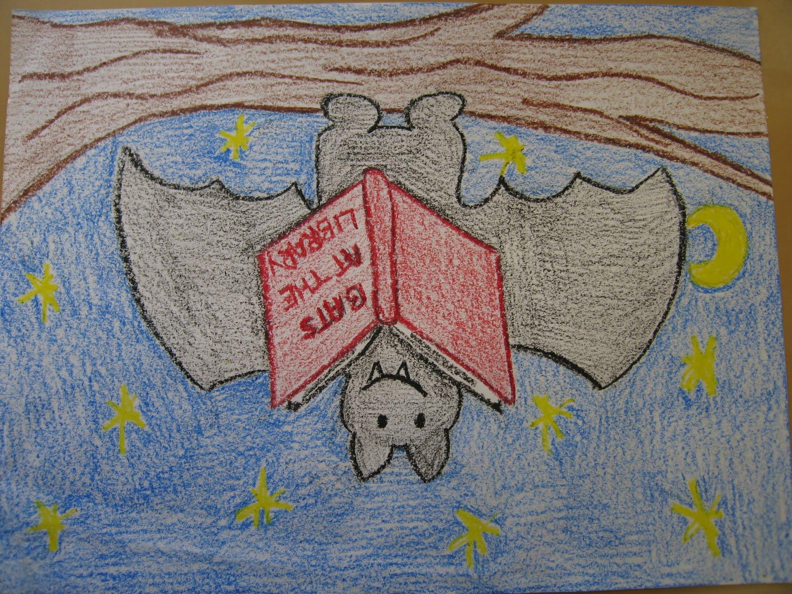 I Teach Elementary Art Bats At The Library