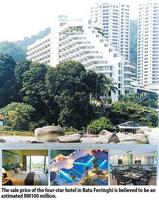 Penang Island Hotels Four Star Hydro Hotel In Batu Ferringhi For