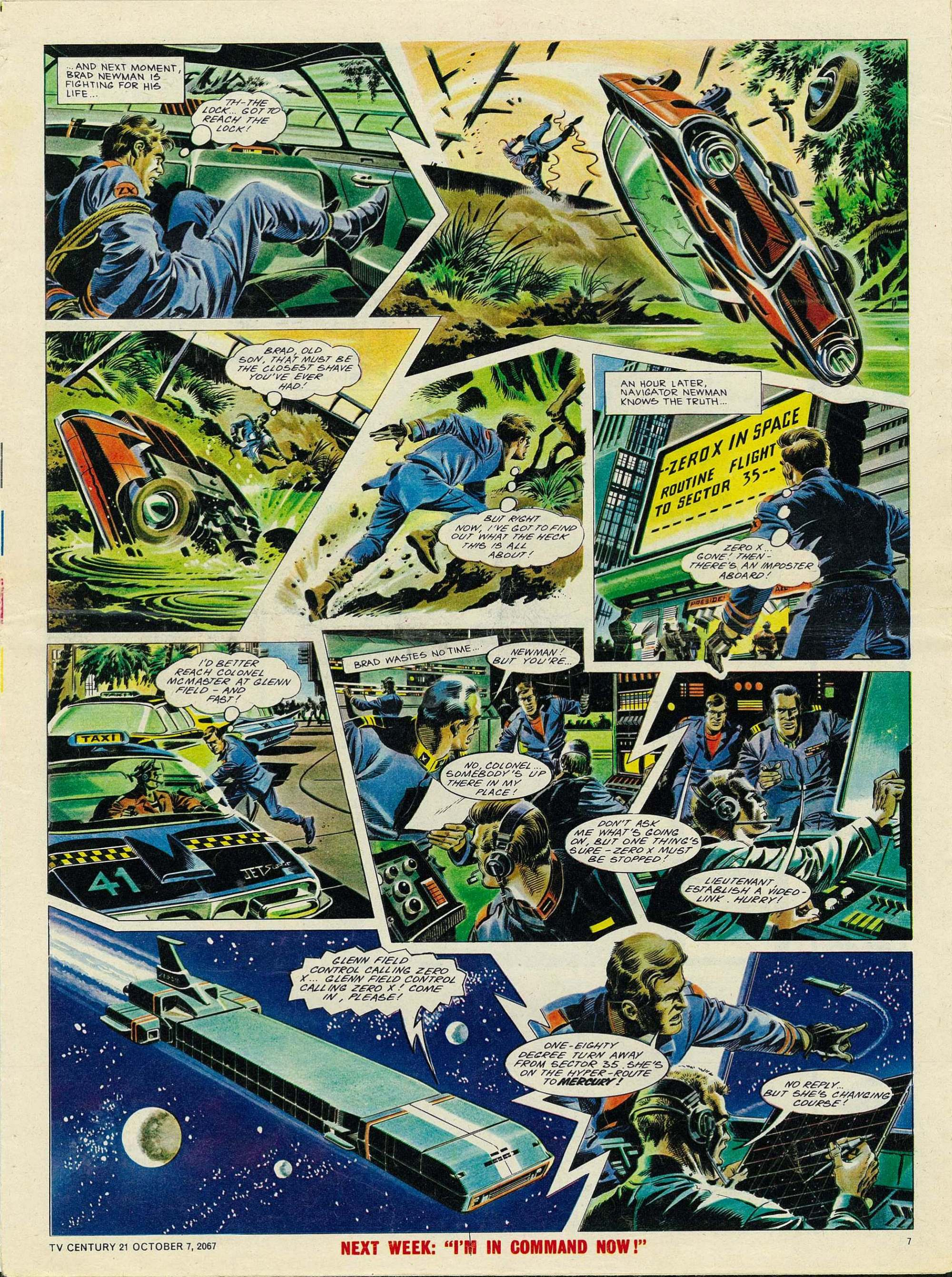 Read online TV Century 21 (TV 21) comic -  Issue #142 - 7
