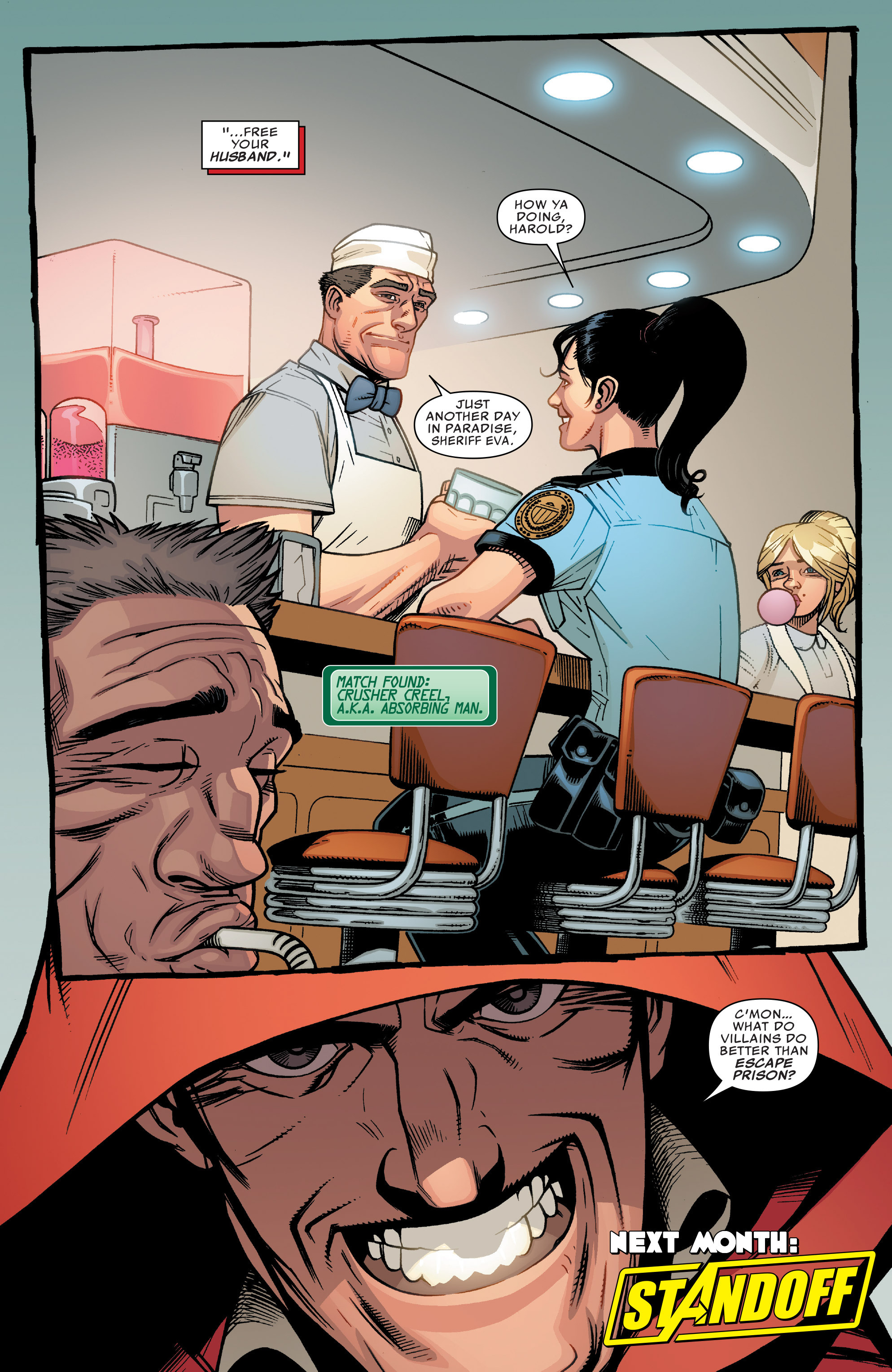 Read online Illuminati comic -  Issue #5 - 22