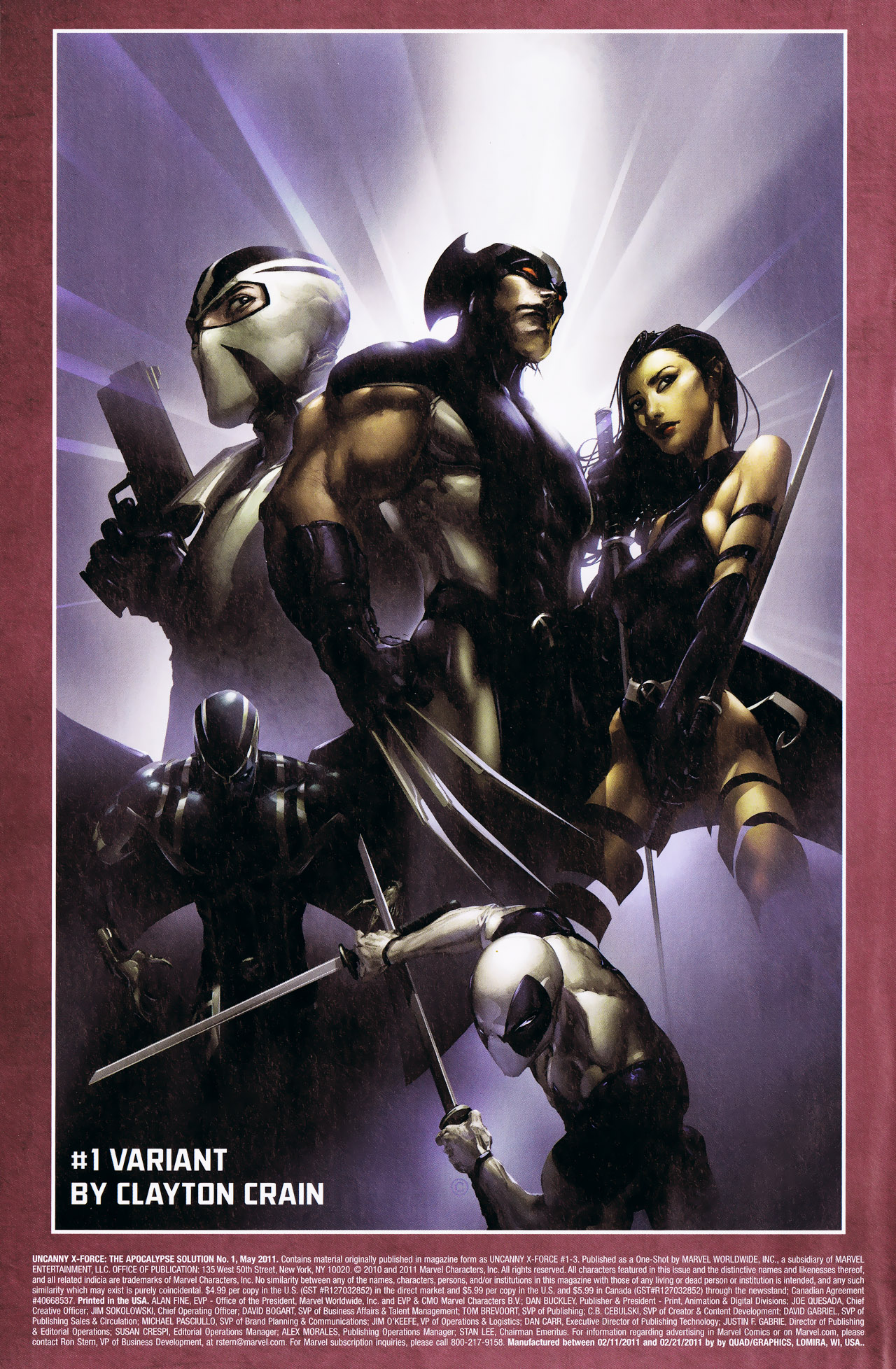 Read online Uncanny X-Force: The Apocalypse Solution comic -  Issue # Full - 74