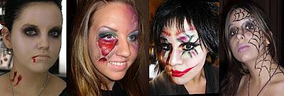 Кровавый макияж