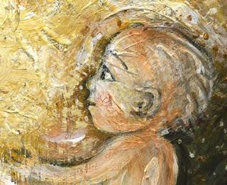 Motherhood Painting: Energy