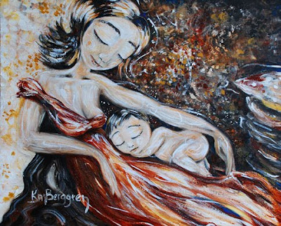 Motherhood Painting: Here & Now