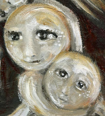 Motherhood Painting: Mine