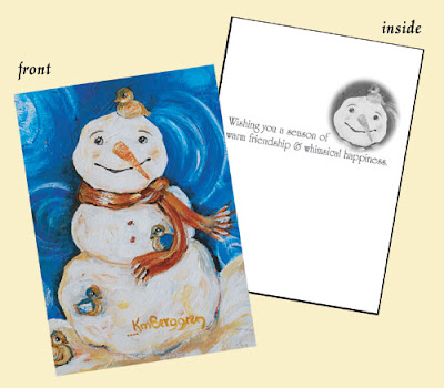 Holiday Cards Are Here: Warm Friendship & Holiday Baby ~ Free Cards Winner, too