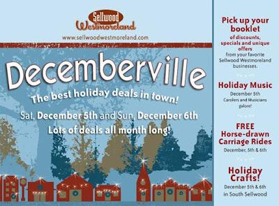 Love Art Gallery features Decemberville!