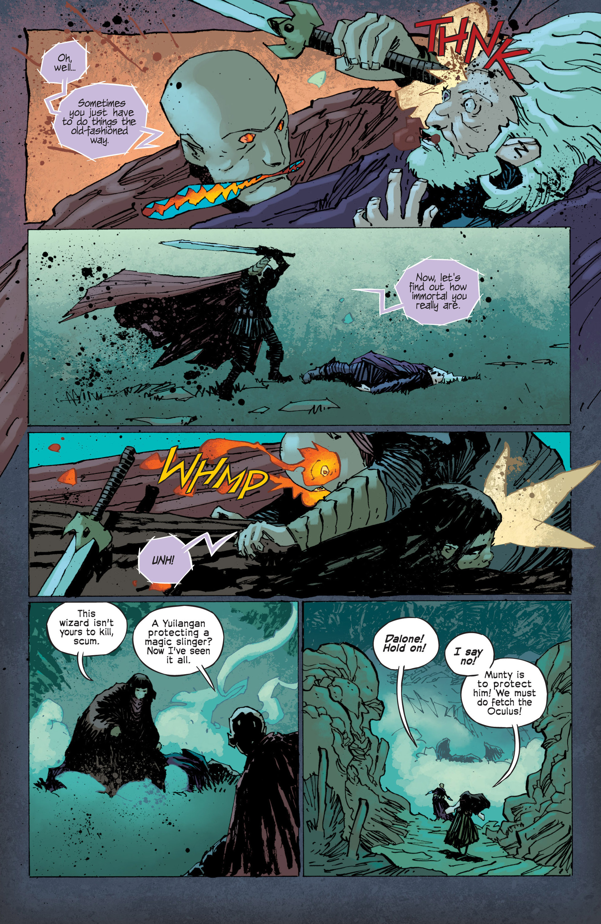 Read online Umbral comic -  Issue #12 - 11