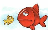 Resultado de imagen para dibujo pez sudando