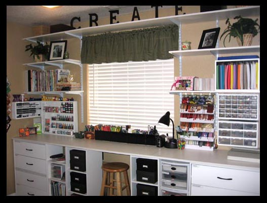 Storage For Craft Room: Do-It-Myself Crafts: Craft Room Upgrade