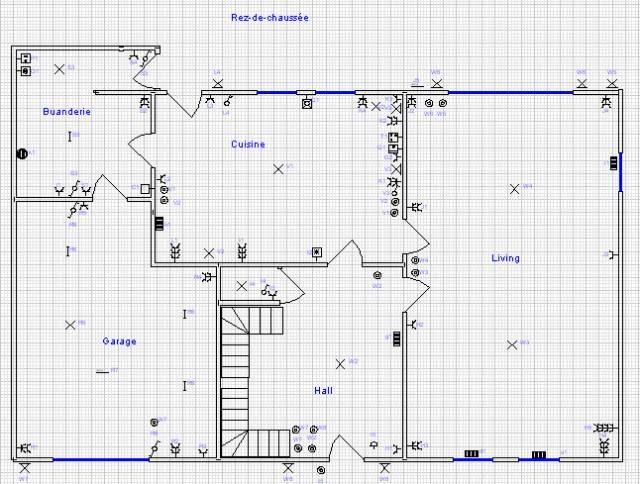 plan schema electrique maison. Black Bedroom Furniture Sets. Home Design Ideas