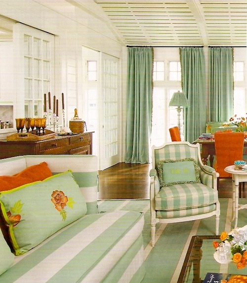 Beach House Colors: Luxe + Lillies: COLOR WATCH: MINT GREEN