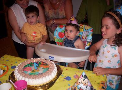cumpleaños, tarta princesas