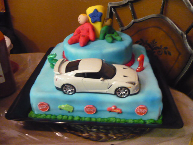 Have It Your Way Cake Designs Vroom Race Car