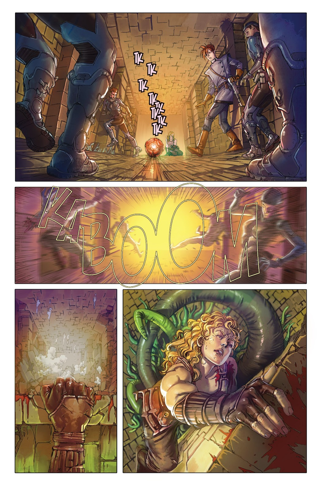 Read online Taarna comic -  Issue #4 - 8