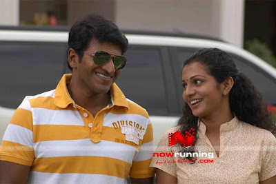 Puneeth Rajkumar and Parvati Menon in Prithvi Kannada Film