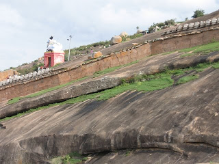 Fort Walls at Shivagange near Bangalore