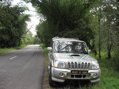 Mahindra Scorpio in Bandipur