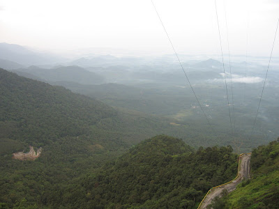 View from Lakkidi view point, Wayanad