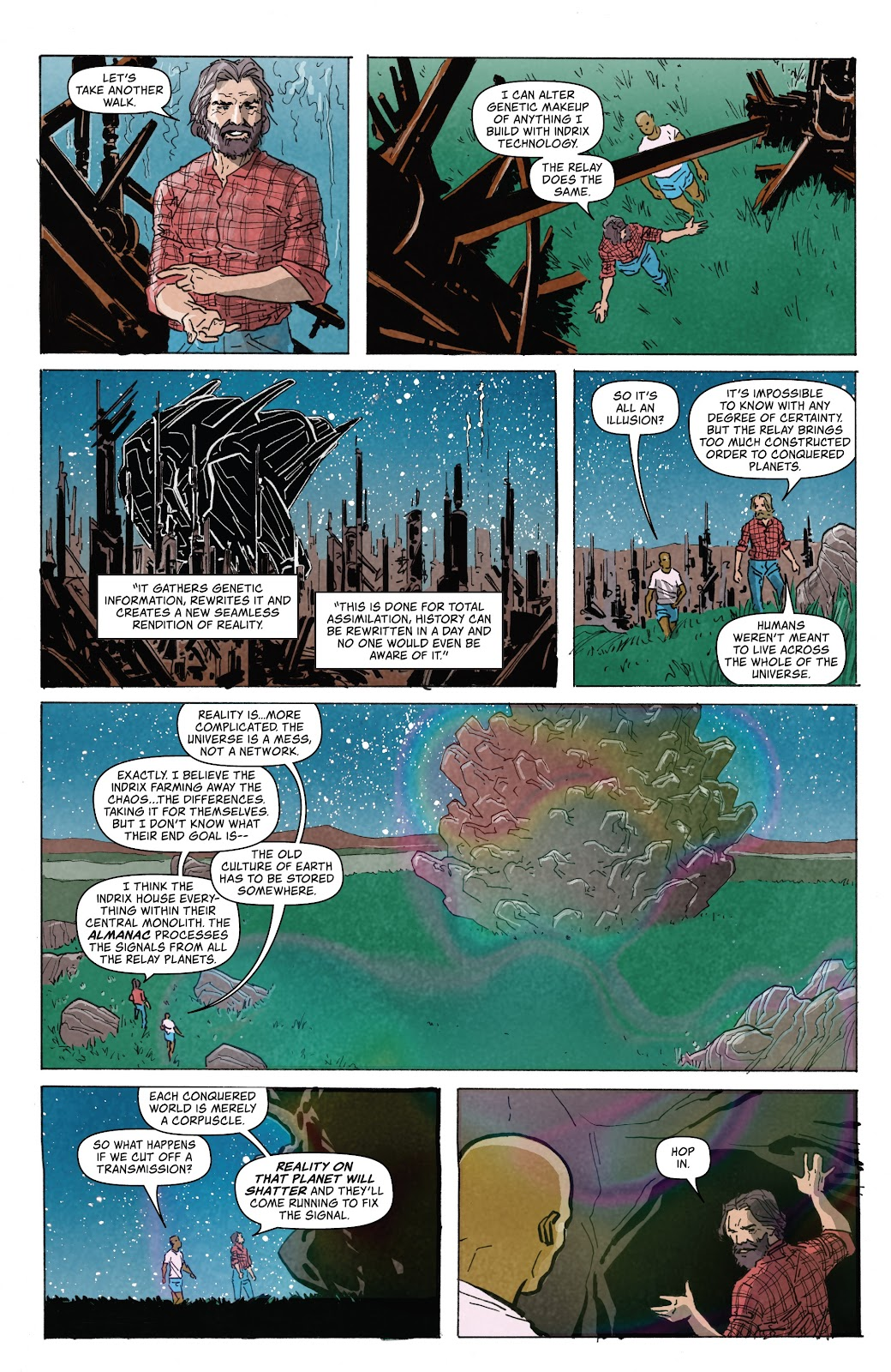 Read online Relay comic -  Issue #5 - 19