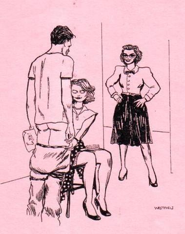 m spanking fantasy art