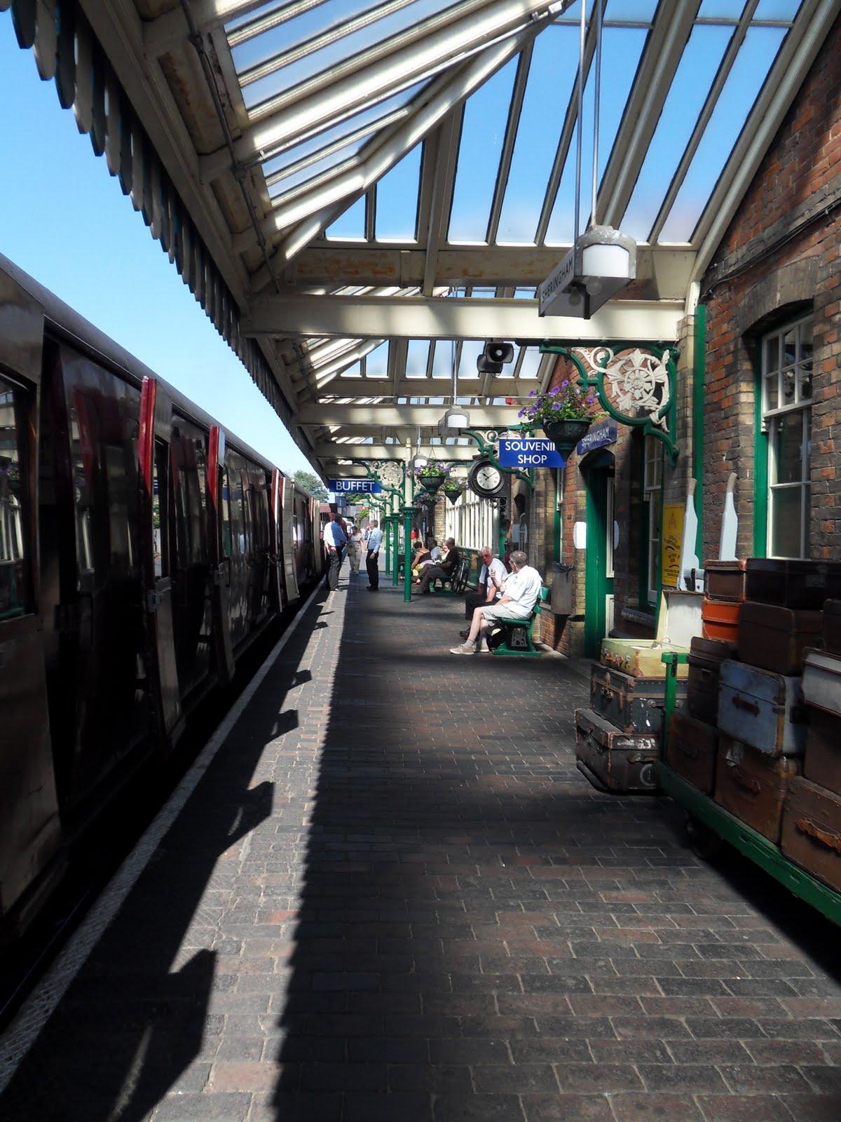 My Adventure Blog Poppy Line Stream Train Sheringham
