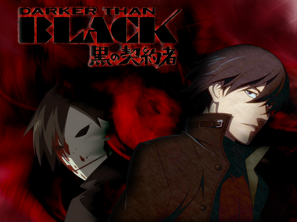 Anime Manga 4 All Darker Than Black Anime Wallpapers
