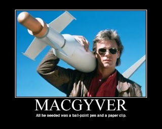 Image result for what would macgyver do