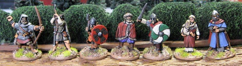 Tim's Miniature Wargaming Blog: Dark Ages and Fantasy Figure