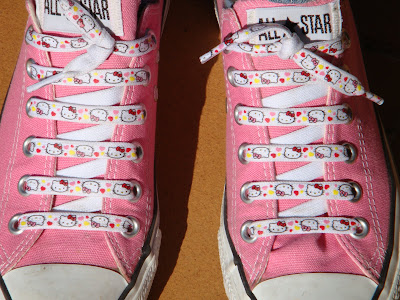 converse all star hello kitty rosa