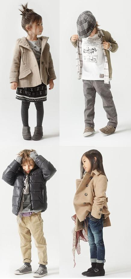ZARA KIDS LOOKBOOK