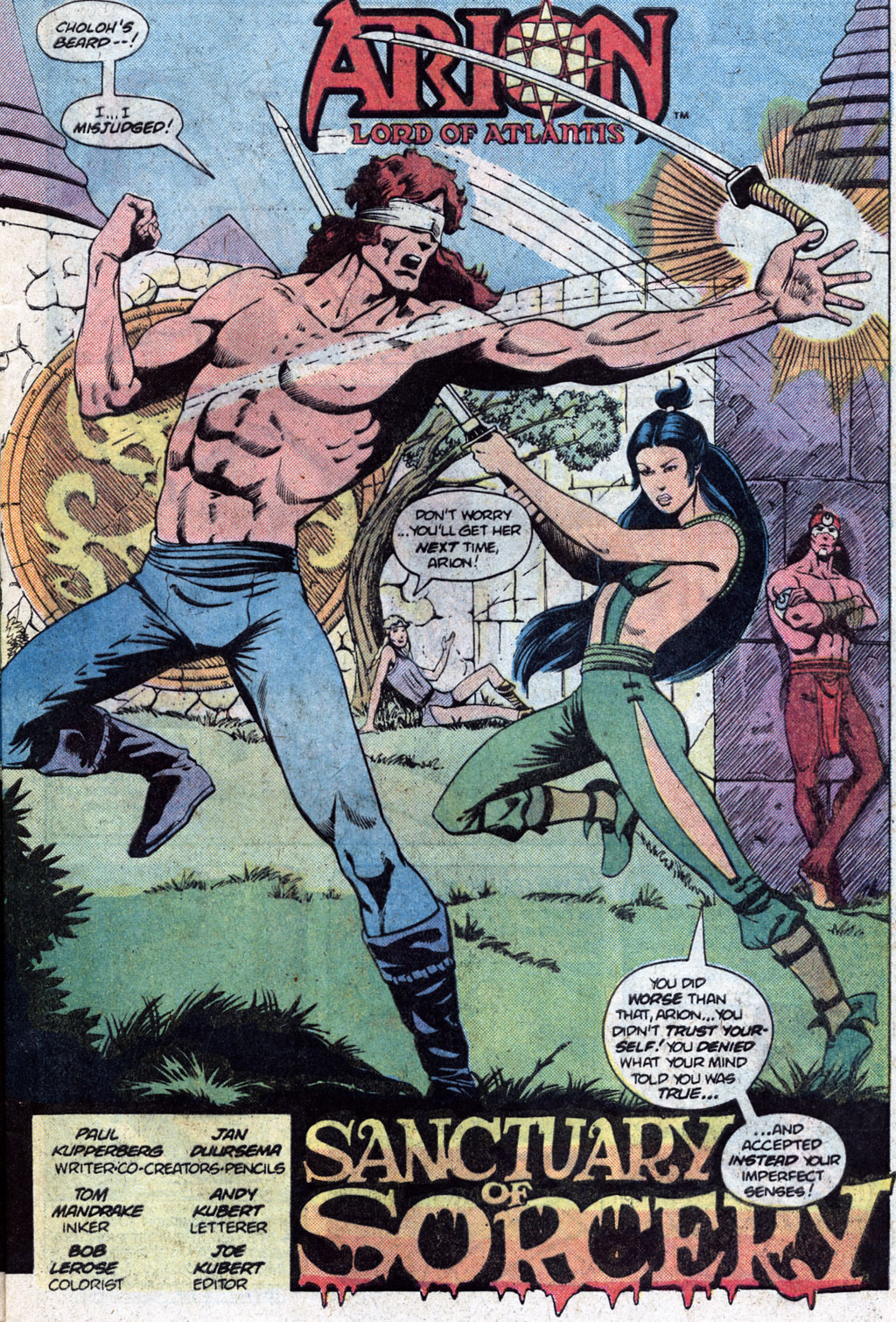 Read online Arion, Lord of Atlantis comic -  Issue #12 - 5