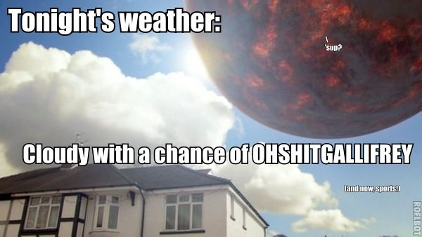 Bad Weather Quotes Funny: Hello, I'm The Doctor: Tonights Weather