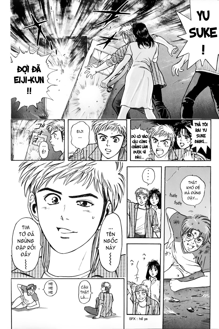 Psychometrer Eiji chapter 21 trang 4