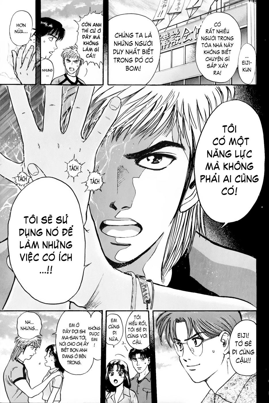 Psychometrer Eiji chapter 21 trang 18