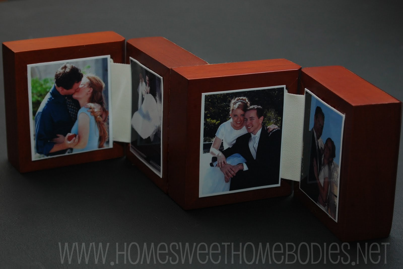 I have a couple of shoe boxes full of those little boxes that rings watches and assorted jewelery come in- both the fancier hinged kind and the cardboard ... & Ring Box Photo Frames - Home Sweet Homebodies Aboutintivar.Com