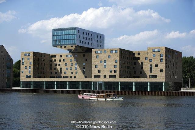 Les plus beaux hotels design du monde h tel nhow berlin for Berlino hotel design