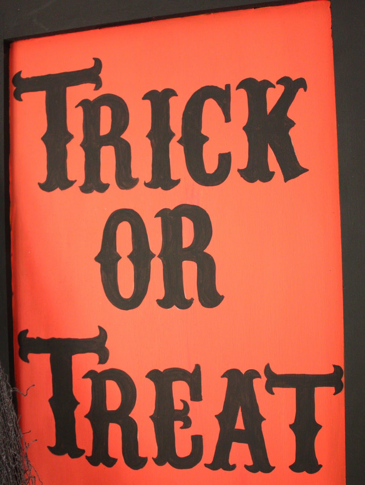 At Second Street Trick Or Treat Sign