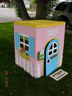 Cardboard Playhouse A Girl And A Glue Gun