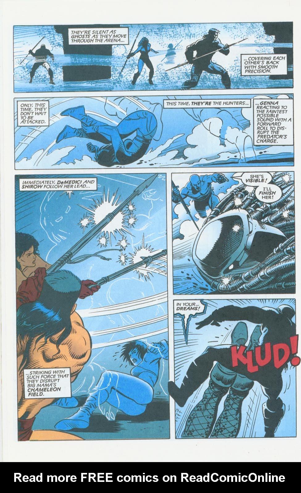 Read online Aliens/Predator: The Deadliest of the Species comic -  Issue #10 - 18