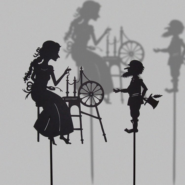Cake Topper Selber Machen Down On Penny's Farm: Fairy Tale Shadow Puppets